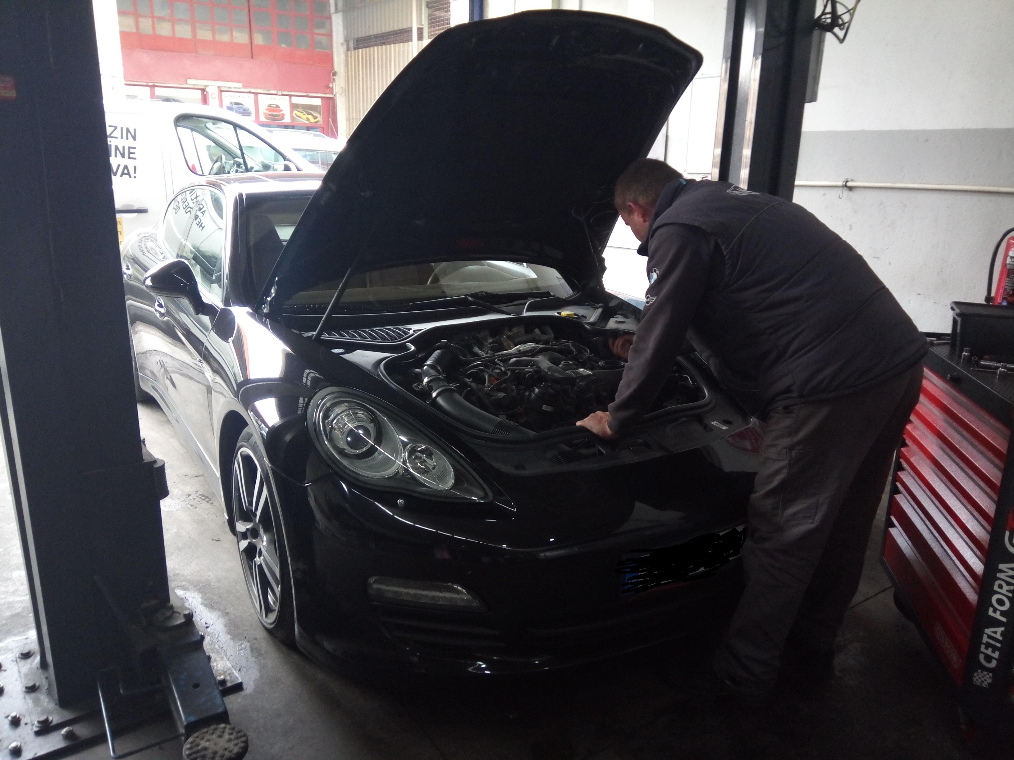 İzmir Porsche Panamera Fren ve Disk, Fren Sistemleri, Hidrolik Değişimi, Disk ve Balata Ayar ve Değişimi