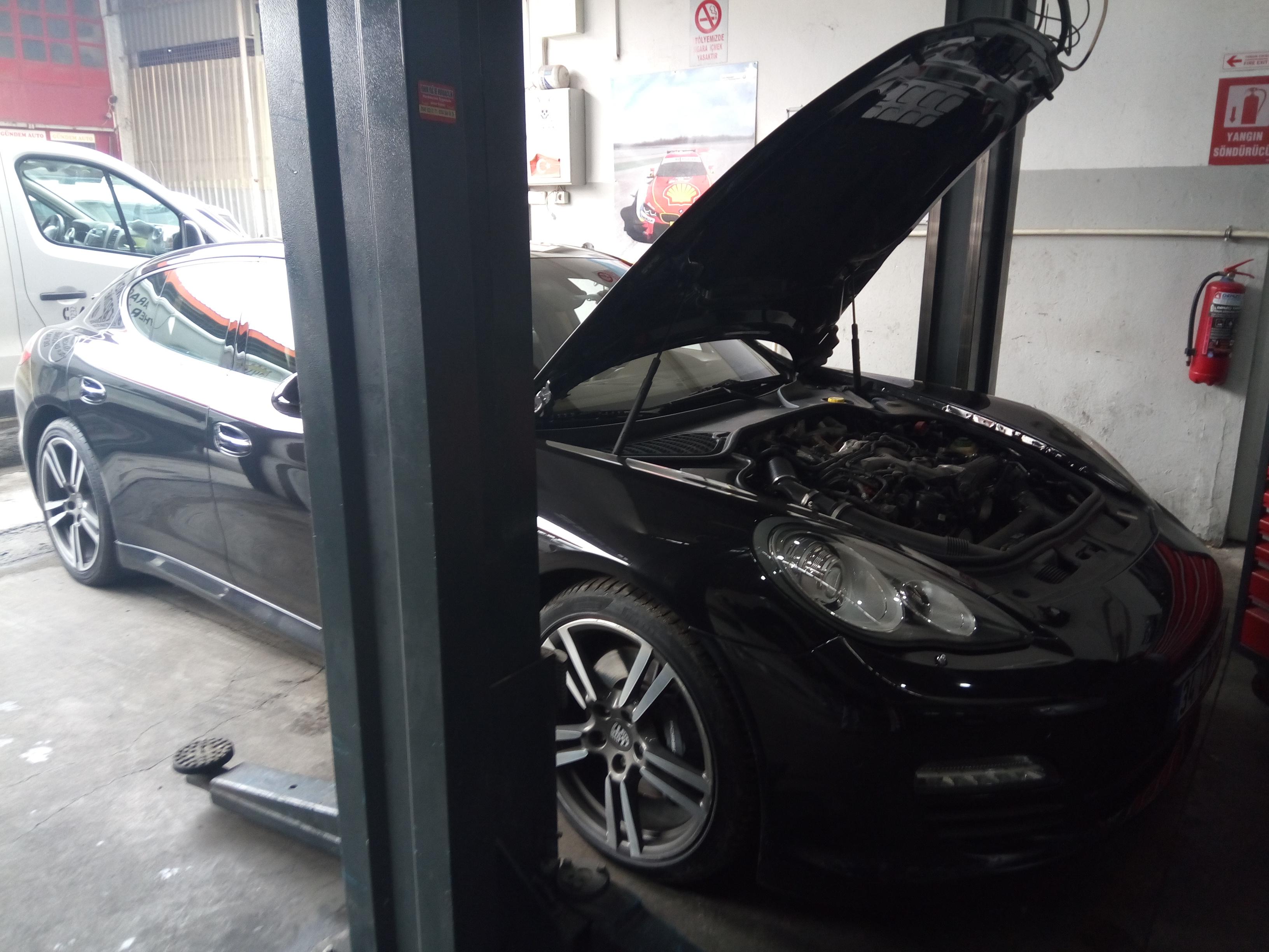 İzmir Porsche Panamera Isıtma ve Soğutma Kalorifer ve Klima Sistemlerinin Bakım, Onarım ve Tamiri