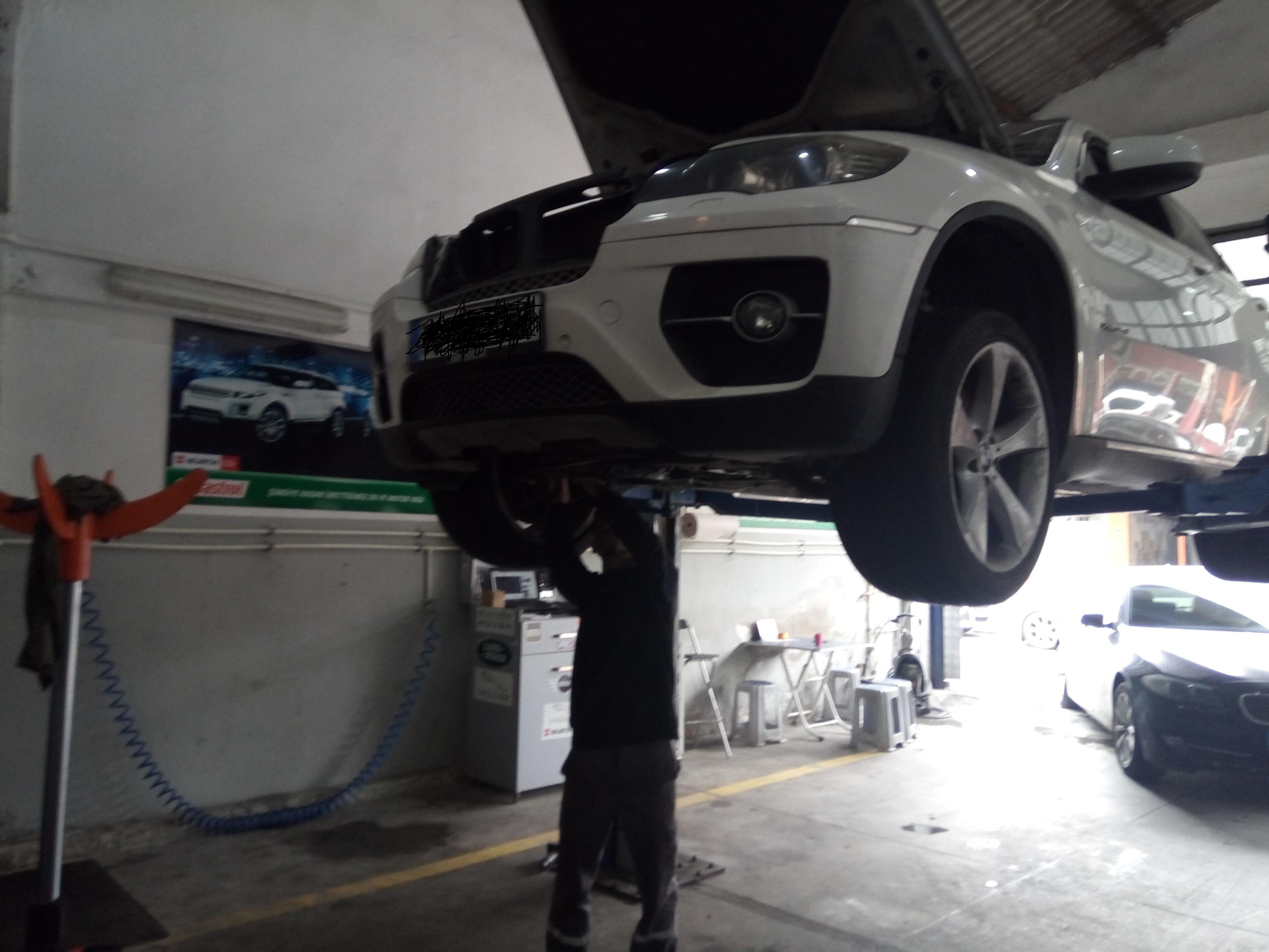BMW X6 DPF Temizliği DPF İptali
