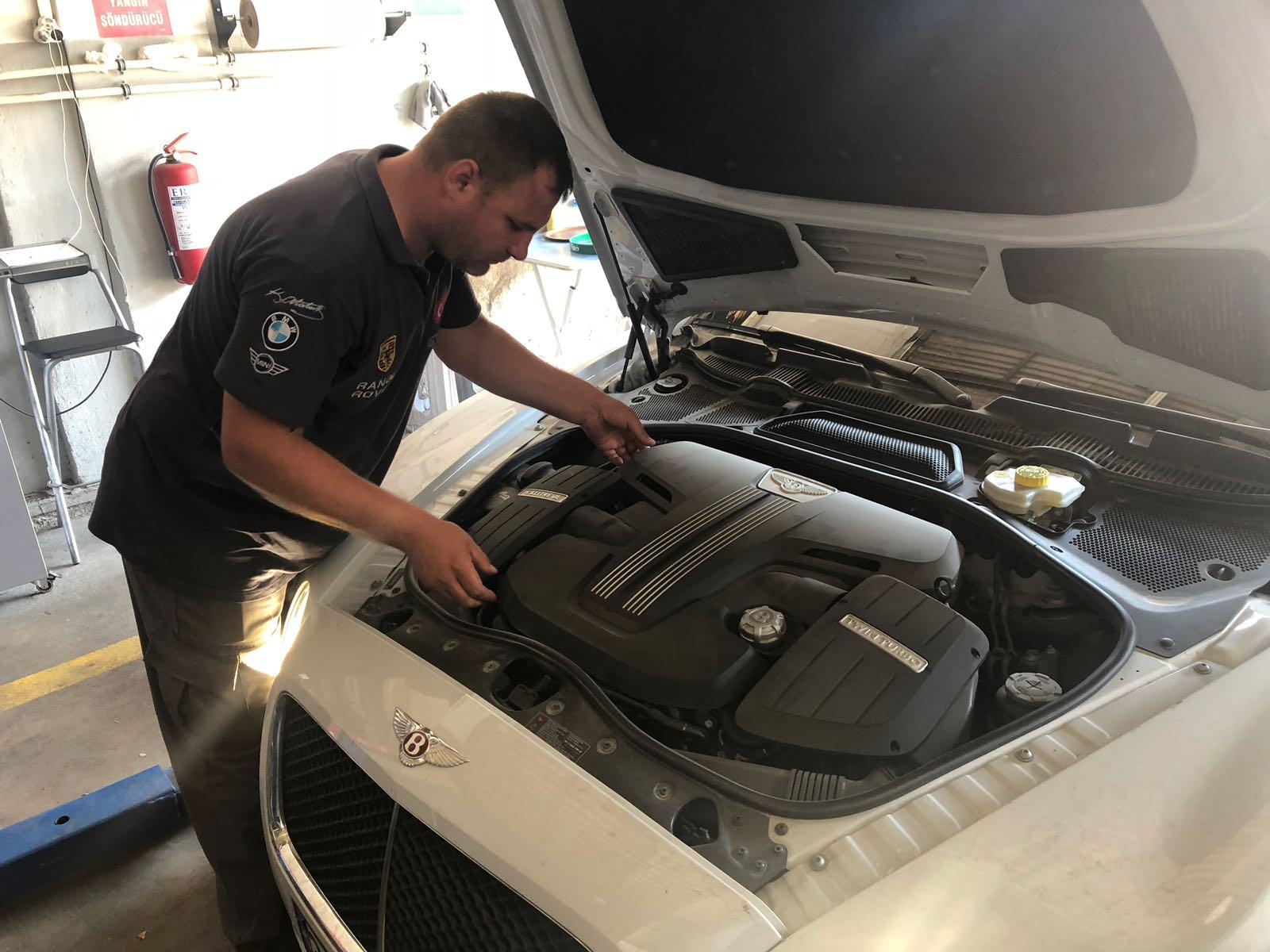 İzmir Bentley Şanzıman Revizyonu, Otomatik Şanzıman Tamir, Bakım, Onarım ve Revizyonu